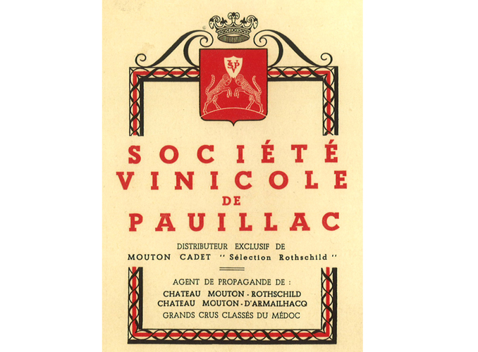 <p>Dans la corbeille de Mouton d'Armailhacq se trouvait aussi la Société Vinicole de Pauillac, ancêtre de l'actuelle Baron Philippe de Rothschild S.A.</p>