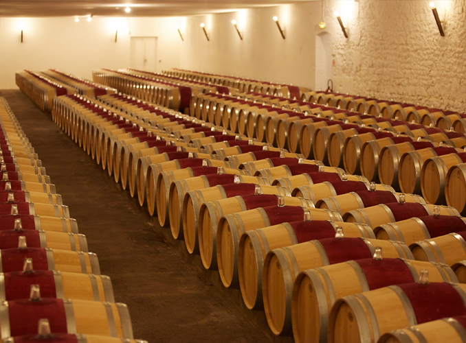 <p>The barrel hall can hold over a thousand barrels.</p>